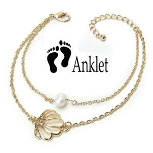 Jewelry - NEW adorable seashell anklet